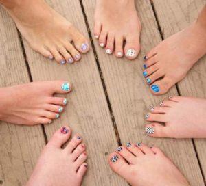 شخصیت شناسی از روی شکل پاها
