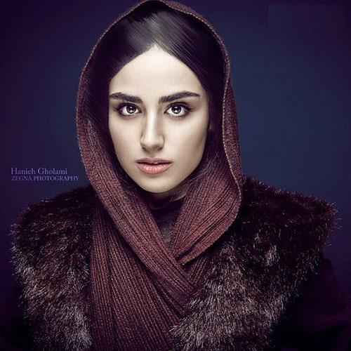 بیوگرافی و عکس های هانیه غلامی