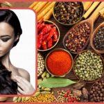 دستورالعمل رنگ کردن مو با چای و ادویه جات