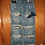 کاردستی خلاقانه با شلوار جین کهنه