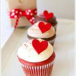 تزیینات کاپ کیک های مخصوص روز ولنتاین