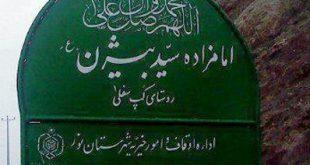 """""""امام زاده بیژن"""" کجاست؟ + عکس"""