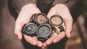 ساعت های مچی چوبی مردانه