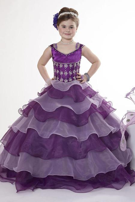 جدیدترین لباس های مجلسی دخترانه