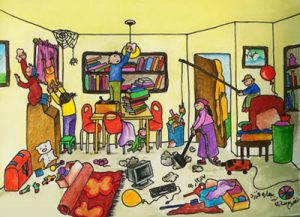 راهکارها و نکات مهم در خانه تکانی