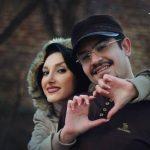 عکس عاشقانه پیمان طالبی و همسرش نـدا صباح