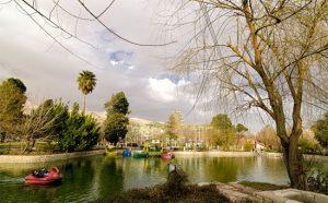 پارک های زیبا شهر شیراز