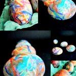 یک روش ساده و زیبا برای رنگ کردن تخم مرغ عید