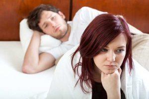 زمان هایی که میل جنسی زنان کم میشود