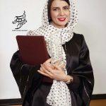 عکسهای لیلا حاتمی در اختتامیه جشنواره فیلم فجر و دریافت سیمرغ