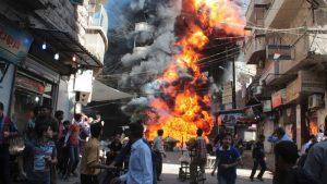جزئیات انفجار خونین امروز در حلب، تاکنون ۴۸ کشته