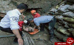 انفجار پروژه آبگرم میناب چهار کارگر را به کام مرگ فرستاد + عکس