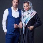 عکس آتلیه ای و جدید محسن فروزان و همسرش