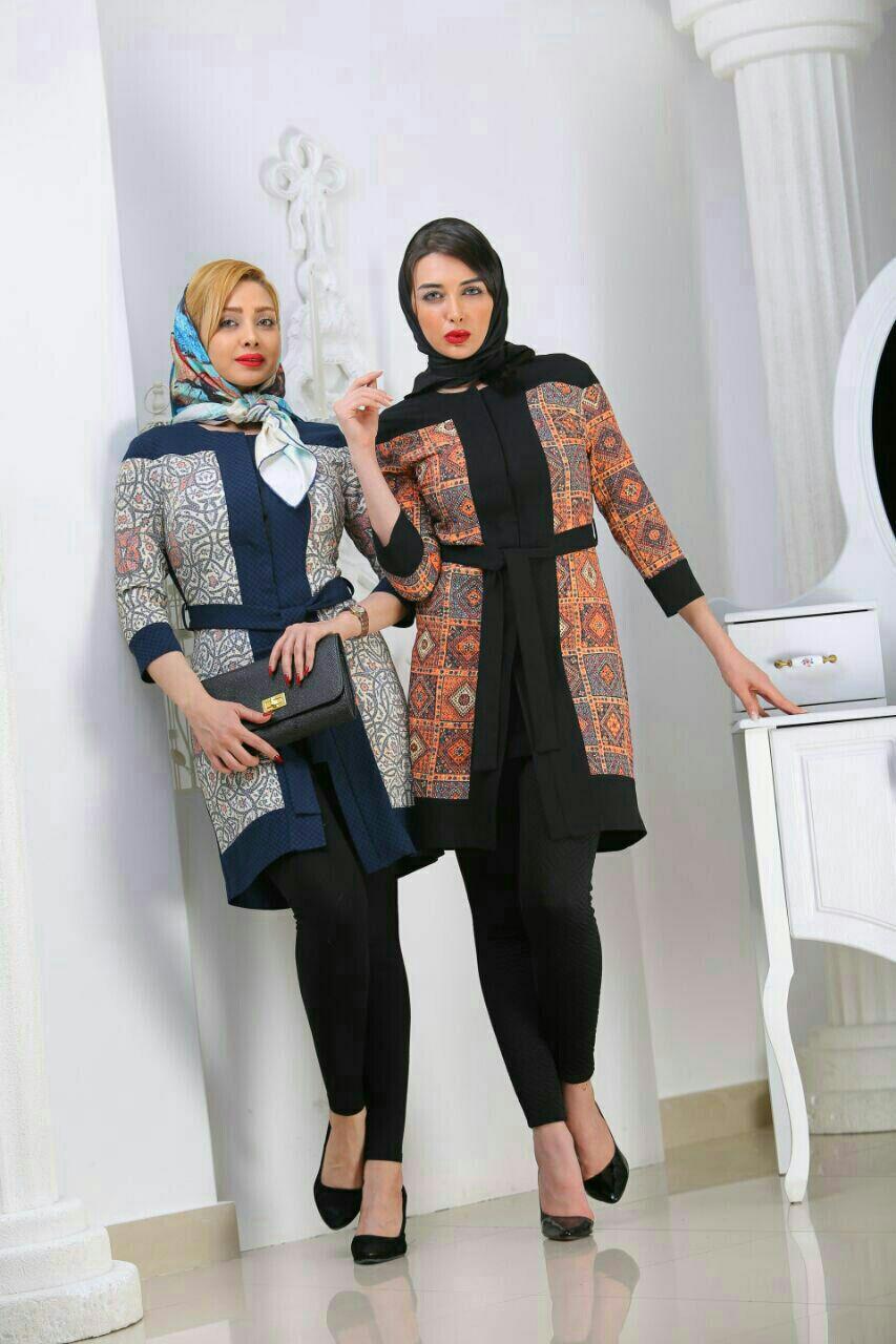 مدل مانتو عید با طرح سنتی