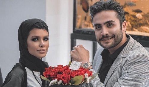 عکسهای اینستاگرامی ملیکا سادات تهامی و امیرحسین نامدار