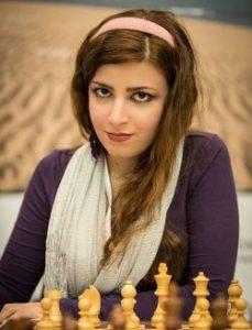 کشف حجاب درسا درخشانی شطرنج باز ایرانی + عکس