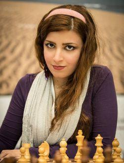 کشف حجاب شطرنج باز ایرانی