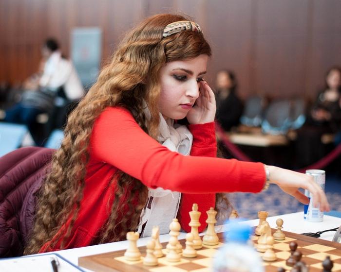 کشف حجاب درسا درخشانی،شطرنج