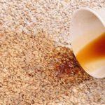 تمیز کردن لکه چای و قهوه از روی فرش