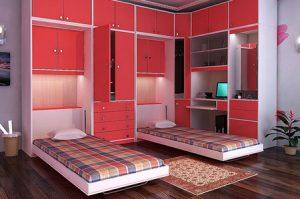 روش هایی برای بزرگتر نشان دادن اتاق خواب کوچک