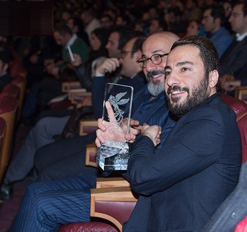 نوید محمدزاده در جشنواره فیلم فجر