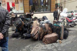آتش سوزی انبار کیف در لاله زار