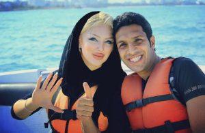 عکس های دونفره سپهر حیدری و همسرش