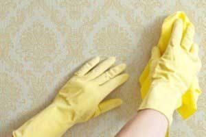 روش های تمیز کردن کاغذ دیواری