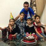 عکس های همسر رضا عنایتی و فرزندانش
