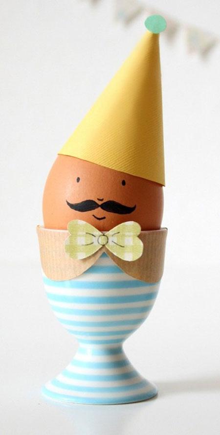 انواع تزیین تخم مرغ سفره هفت سین