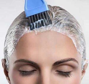 روش های پاک کردن رنگ مو از پوست