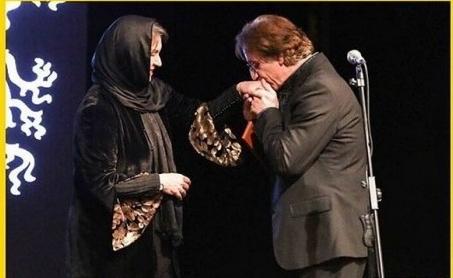 عکس عاشقانه رویا تیموریان و مسعود رایگان