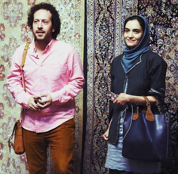 میترا حجار و همسرش سینا حجازی