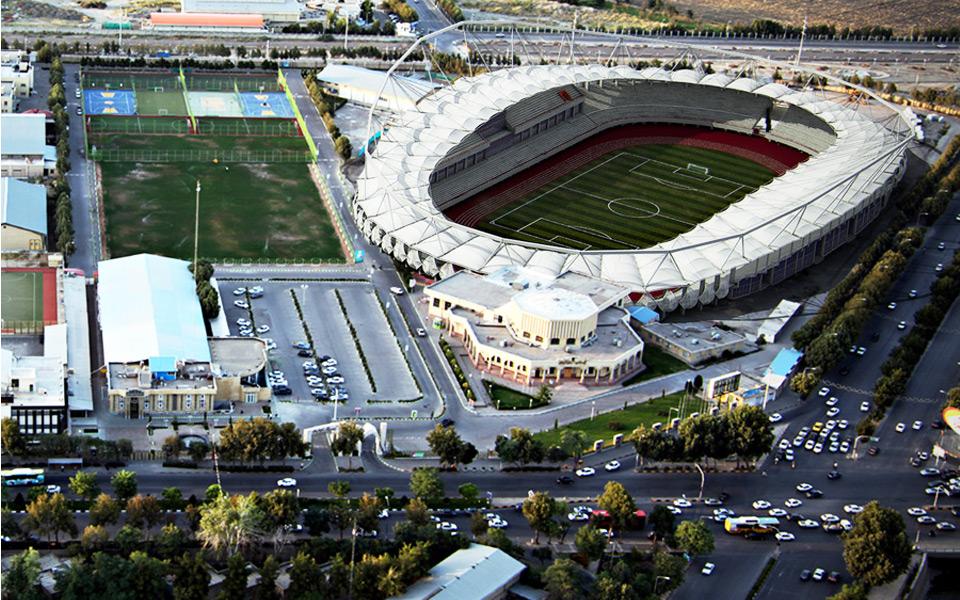 افتتاح رسمی ورزشگاه مدرن و زیبای امام رضا + عکس