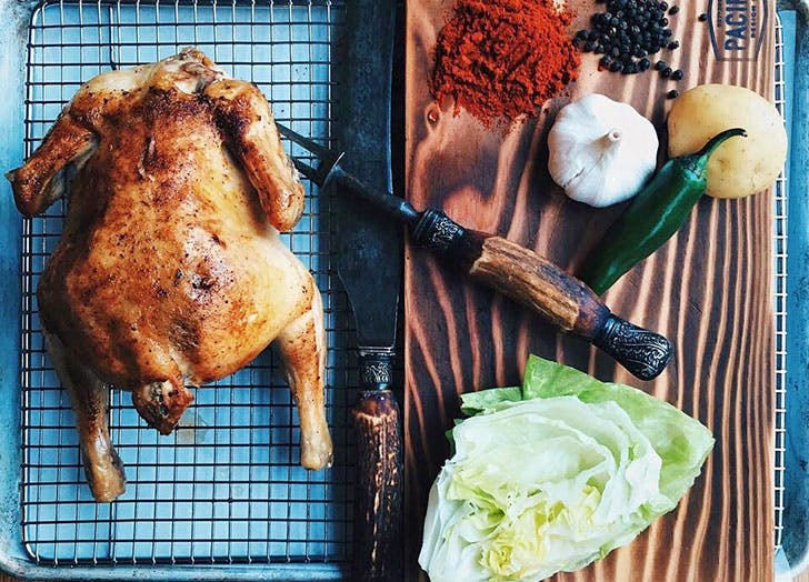 اصول پختن مرغ