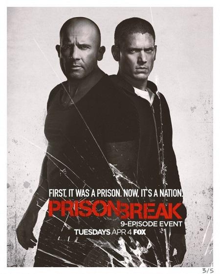 نخستین تصاویر منتشر شده از فصل پنچم سریال فرار از زندان
