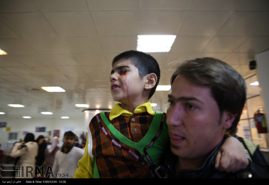 تصاویری از مصدومان چهارشنبه سوری