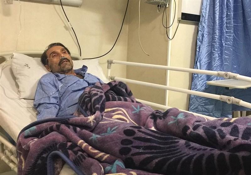 امیر آتشانی بازیگر سریال پس از باران به دلیل وخامت حالش ممنوع الملاقات شد
