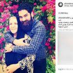 سجده شکر خواننده ایرانی برای وجود مادرش+عکس