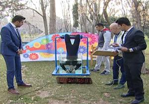 تشنج داوطلب شکستن رکورد گینس در برنامه زنده علی ضیا