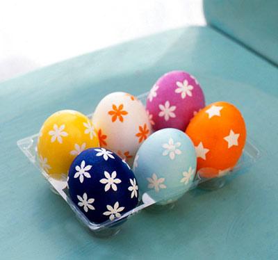 انواع تزئین تخم مرغ برای عید