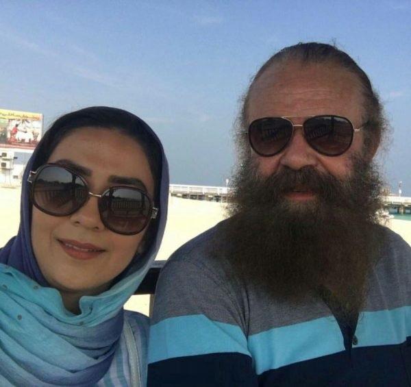 عکس های سارا صوفیانی و همسرش