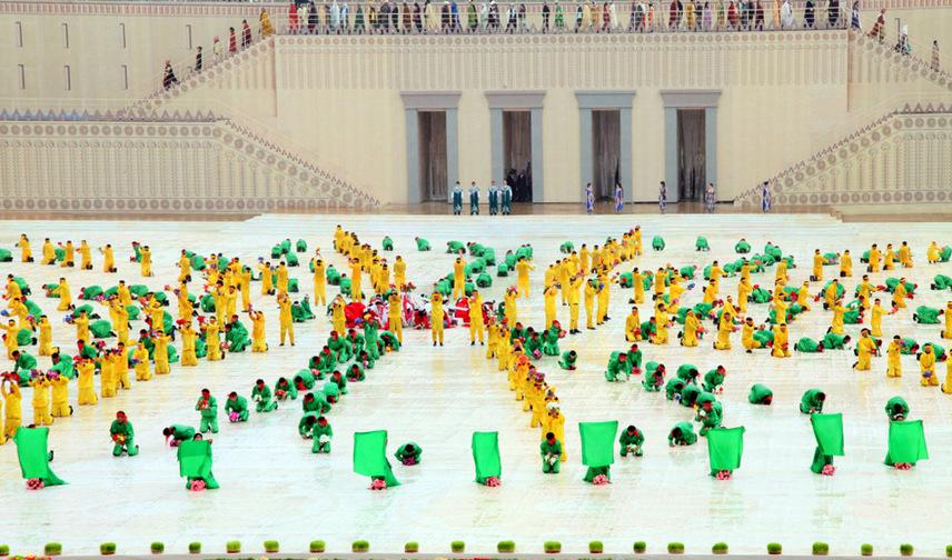 جشن نوروز و نماد تخت جمشید در تاجیکستان