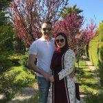 عکس های جدید آرام جعفری و همسرش در نوروز ۹۶