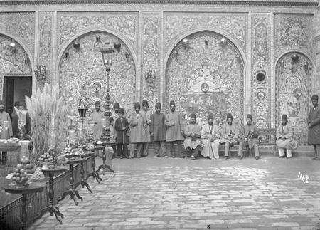 آداب و رسوم جشن نوروز در دوره قاجار + عکس