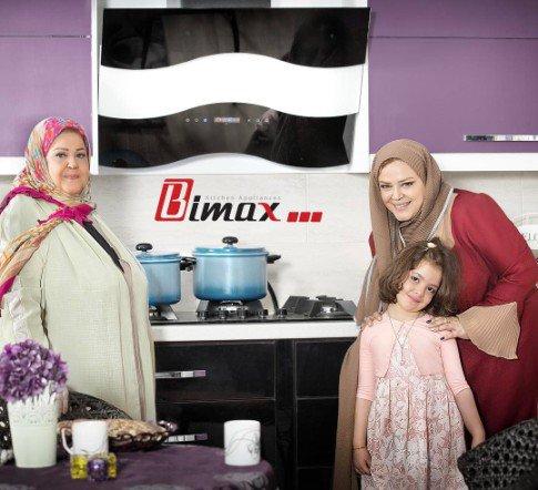 تبلیغات بهاره رهنما و مادرش برای یک برند