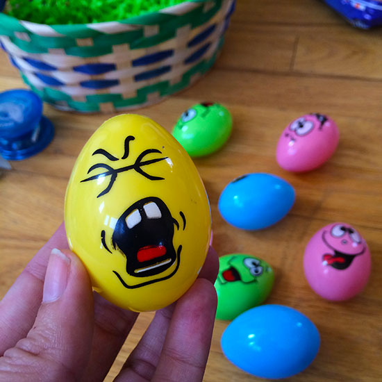 تزیین تخم مرغ برای کودکان