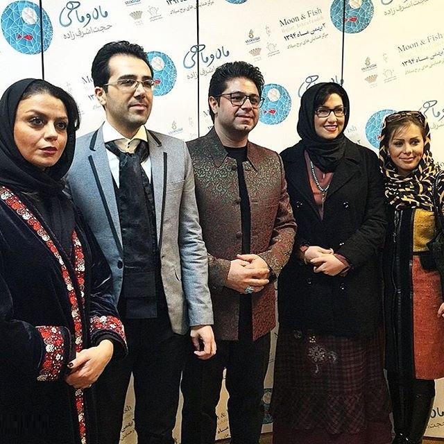 عکس هنرمندان در حاشیه کنسرت حجت اشرف زاده