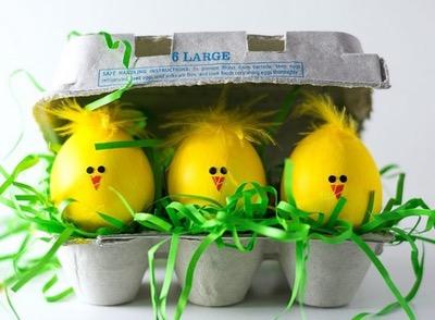 تزیین تخم مرغ عید برای کودکان