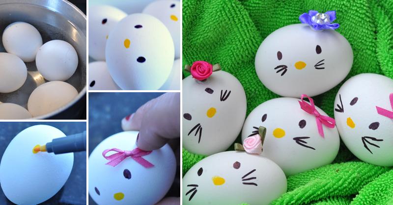 رنگ آمیزی تخم مرغ برای کودکان